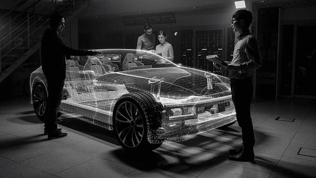 Ingénierie véhicule prototype réalité virtuelle