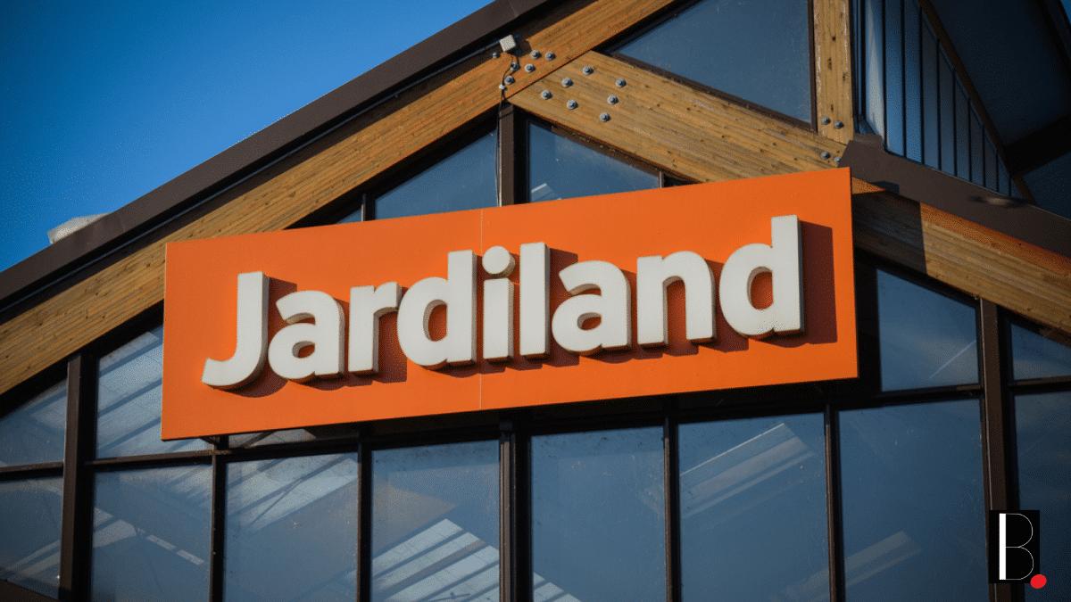 Jardiland nouvelle image logo plante bien-être consommateur expertise