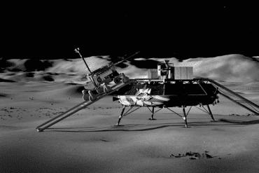 European Odyssey Mission Moon