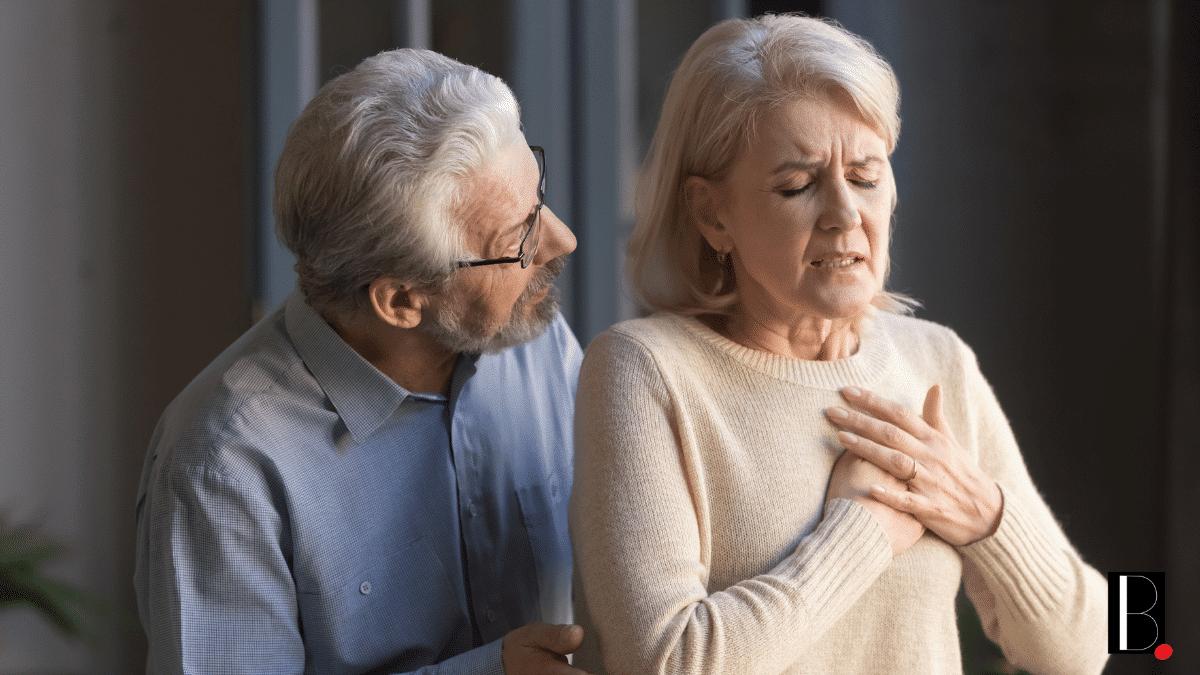 Couple âgé problème cardiaque