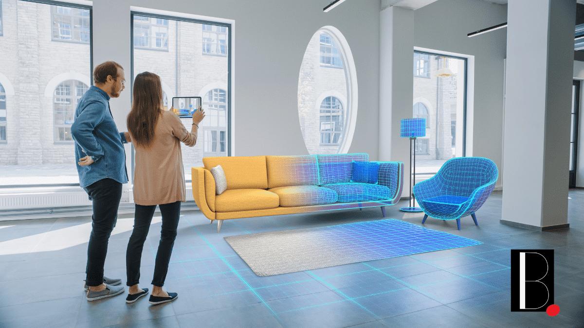 Visite distance virtuel projection