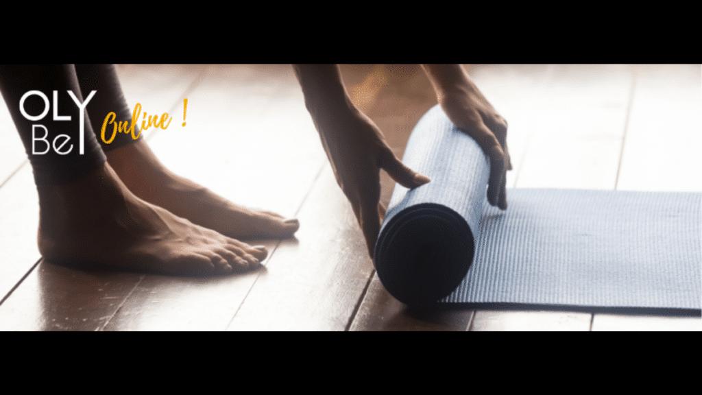 tapis yoga femme