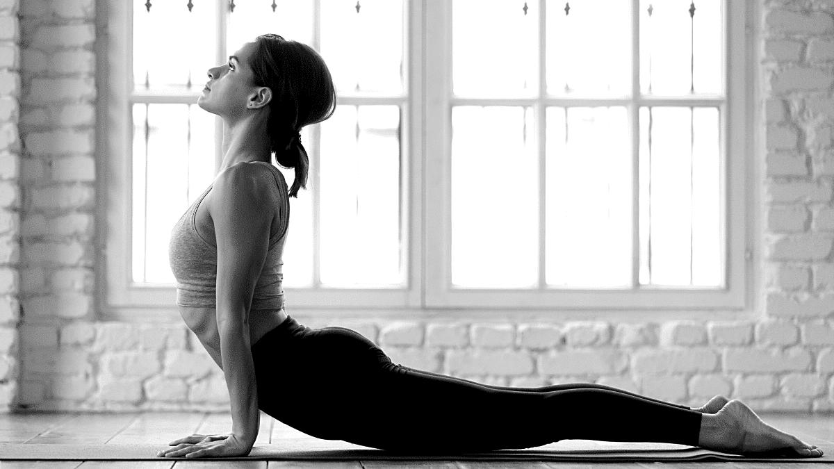 femme yoga sport