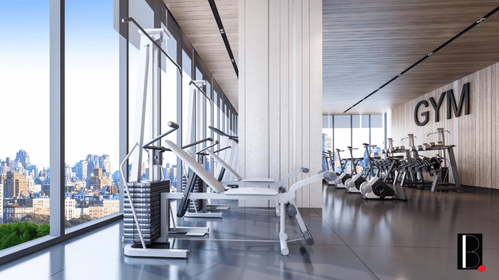 salle sport gym machine