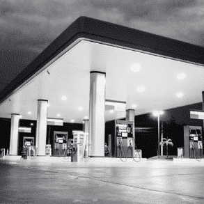 Full petrol car service stations