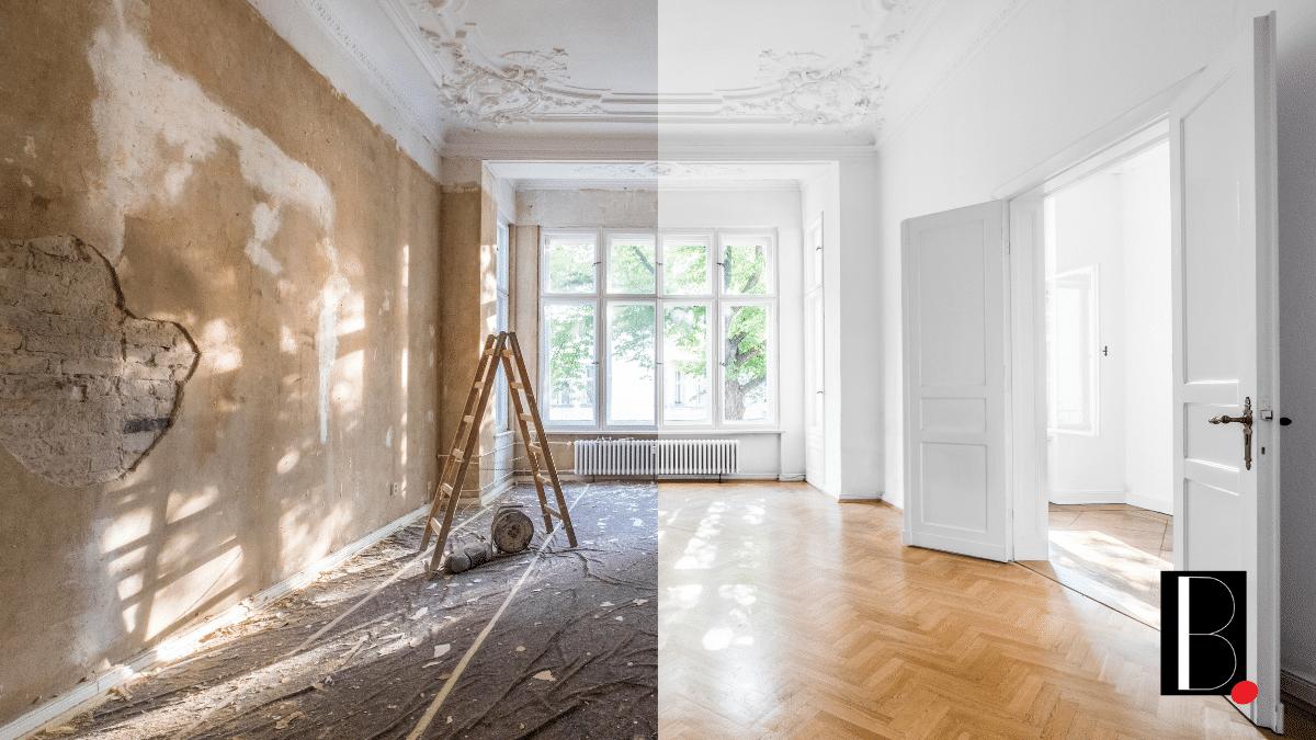 Travaux rénovation immobilière