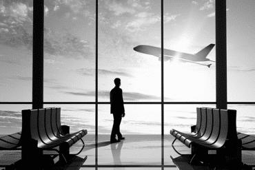 Himme avion décolle affaires business