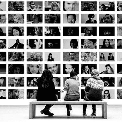 Wall image portrait eye photographer