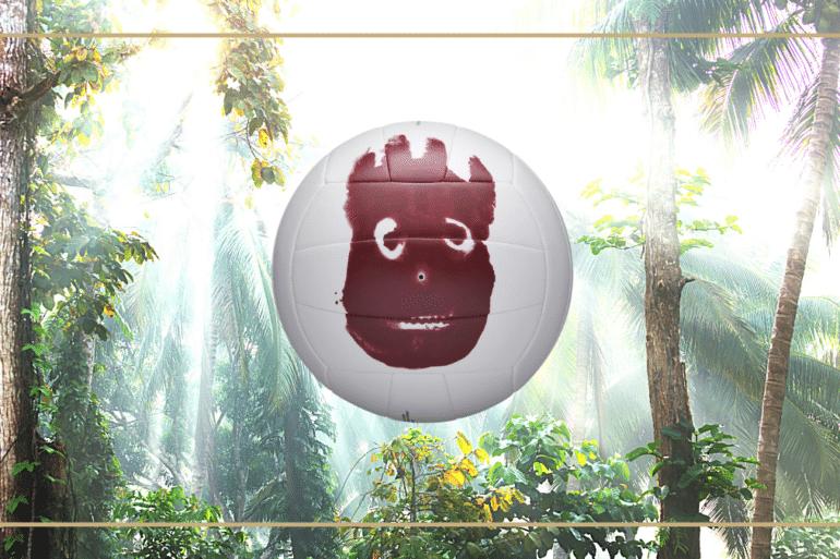 wilson business volley-ball ballon film jungle