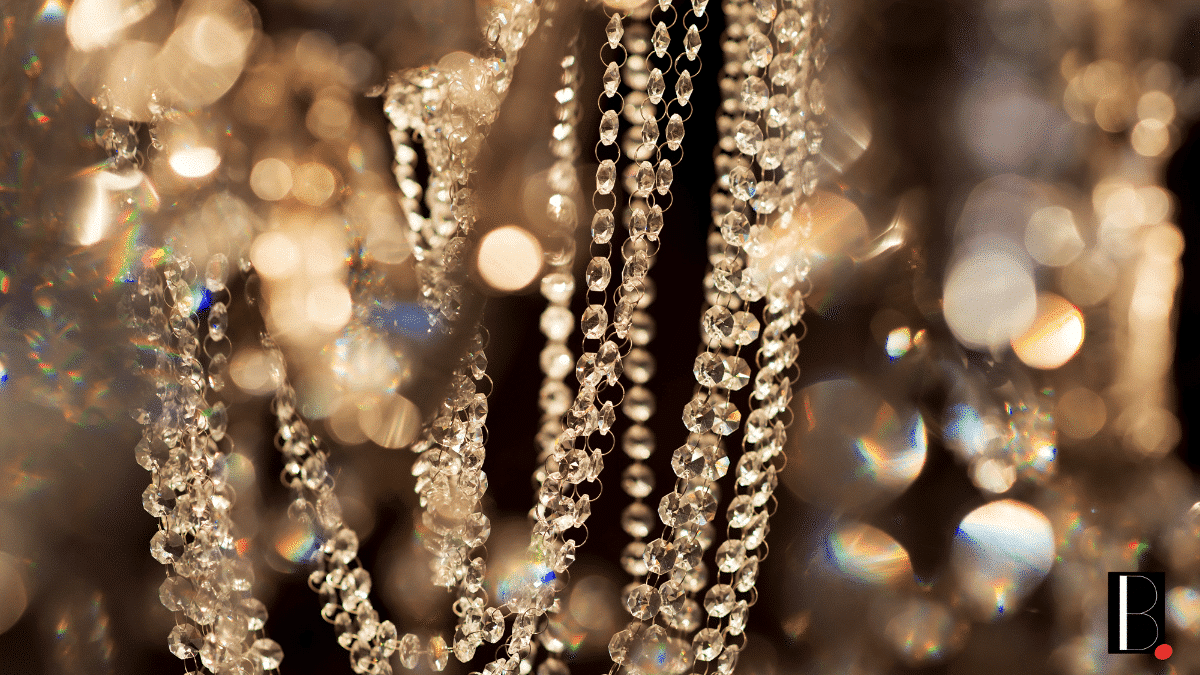 Luxury diamond jewel necklace