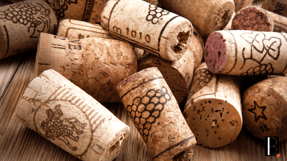 Cork corks wines bottle