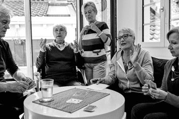 senior group shared housing colocation
