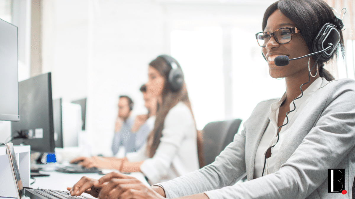 Call center business customers
