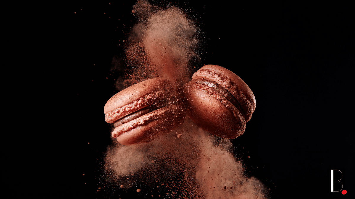 French pastry macaroons