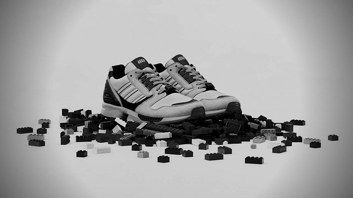 adidas et lego basket creativite