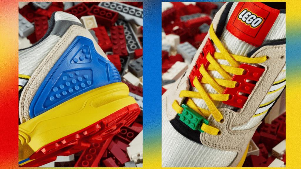 adidas et lego basket collection partenariat