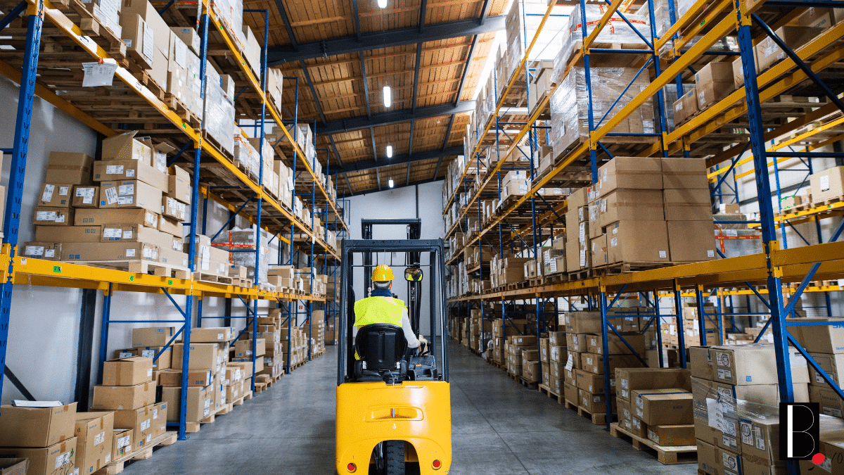 Ecommerce Logistics Warehouse