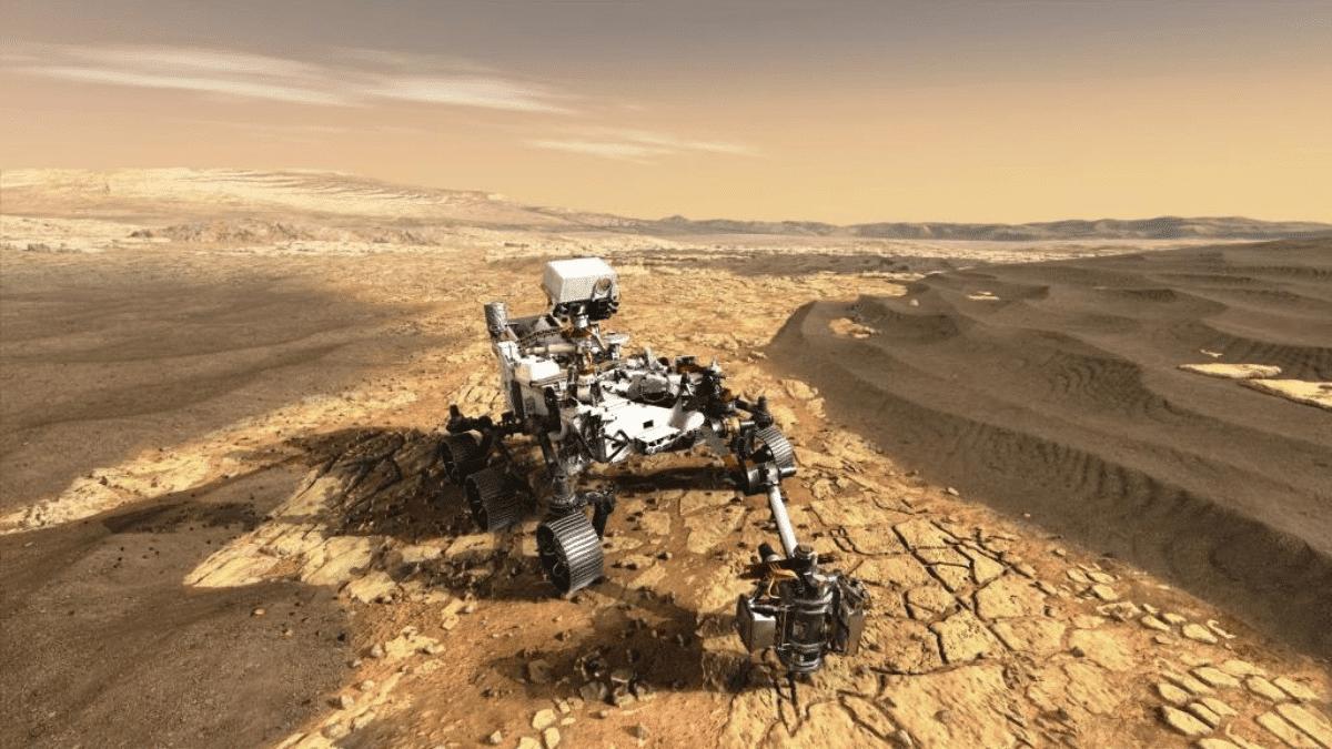 Rover Percy Perserverance Mars