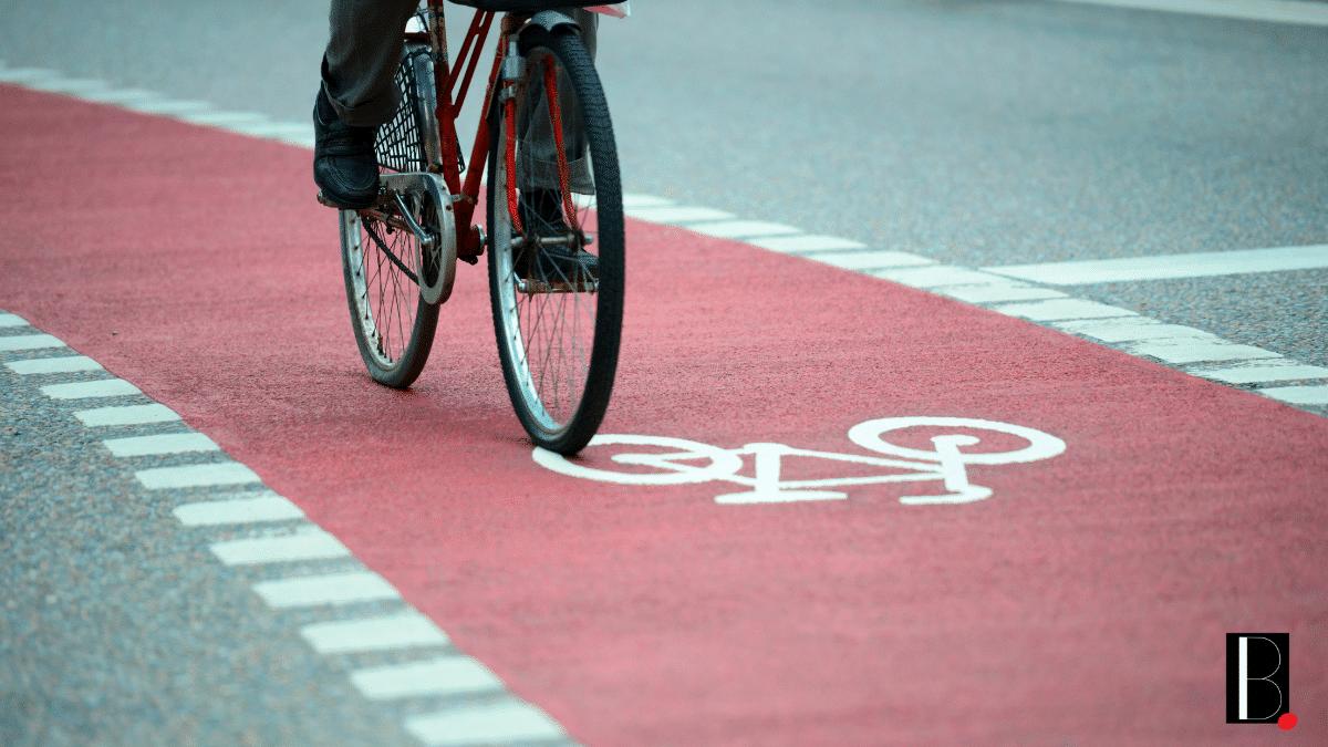 Vélo piste cyclable déplacement