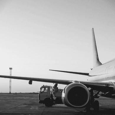 Aéroport de Bordeaux avion
