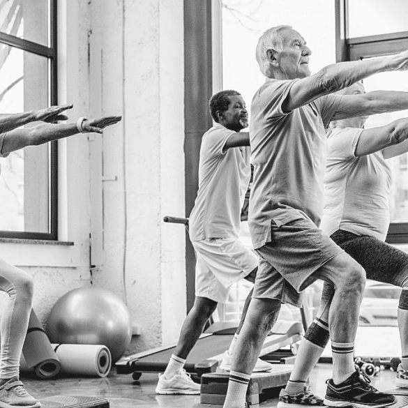 Bluelinea senior care EHPAD sport