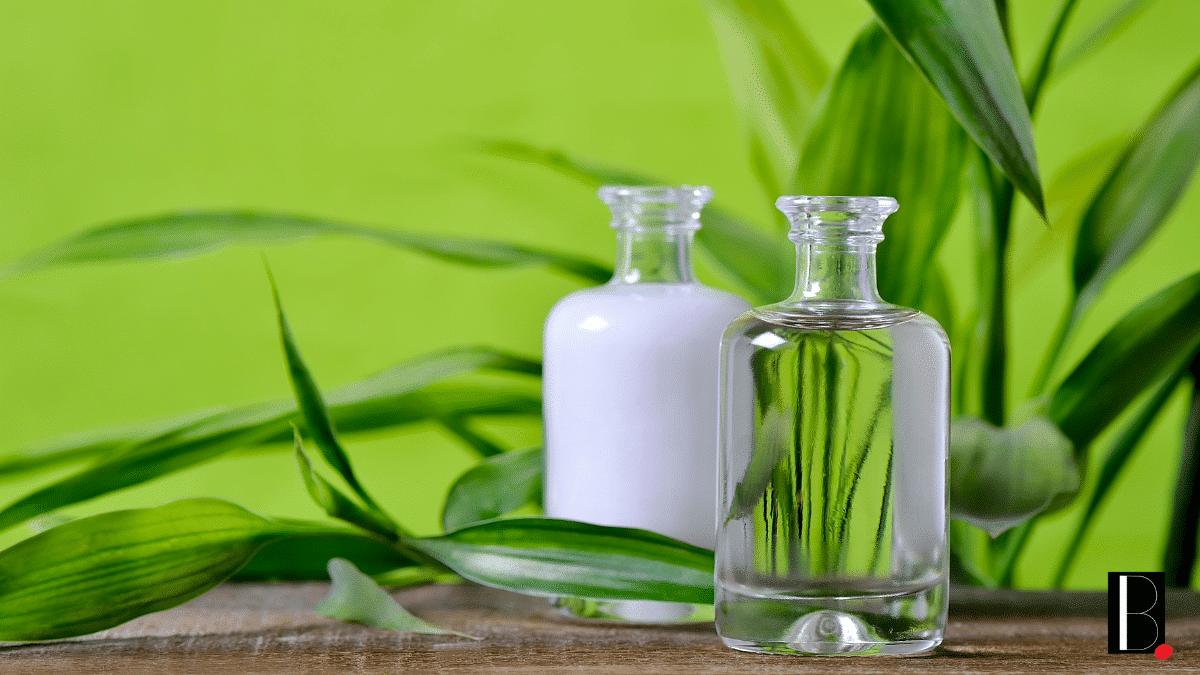 Lait naturel cosmétique bio