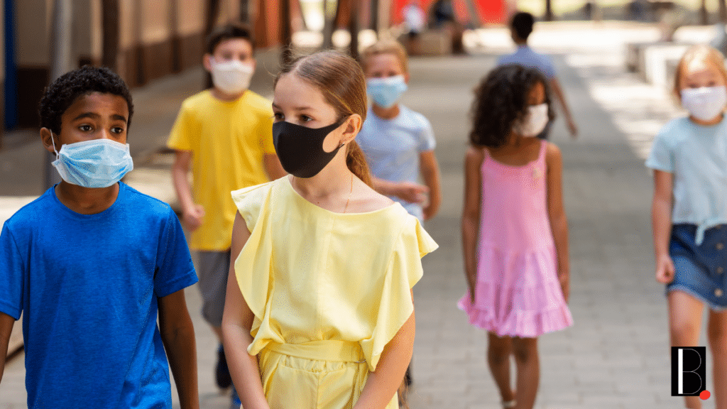 enfants masques école Covid