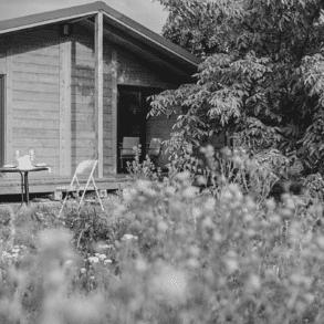 Logement maison jardin
