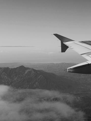 Airport flight plane