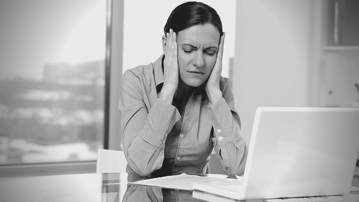 Chef d'entreprise stress fatigue