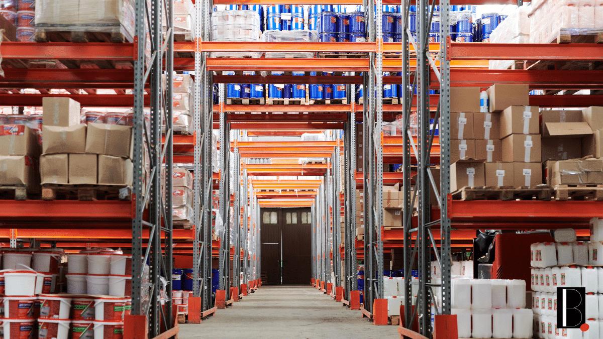 Entrepôt stockage e-commerce