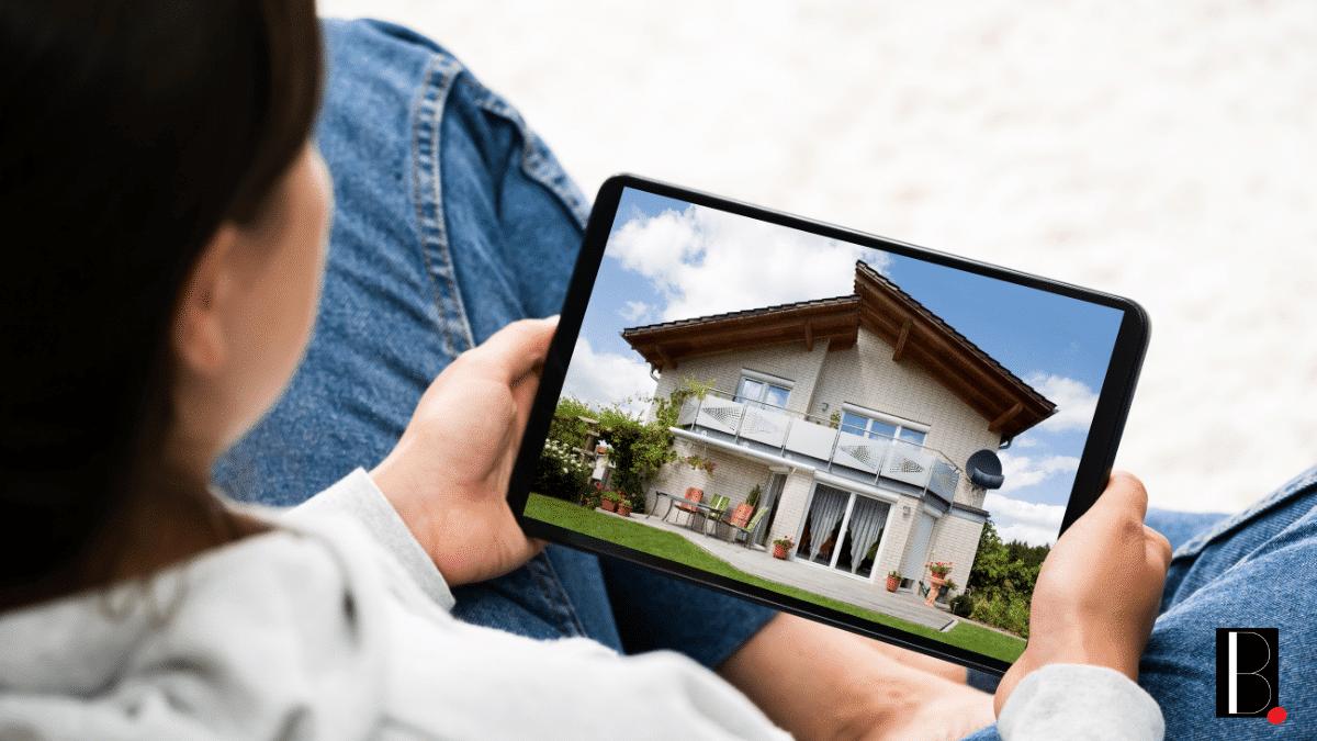 Visite virtuelle tablette maison