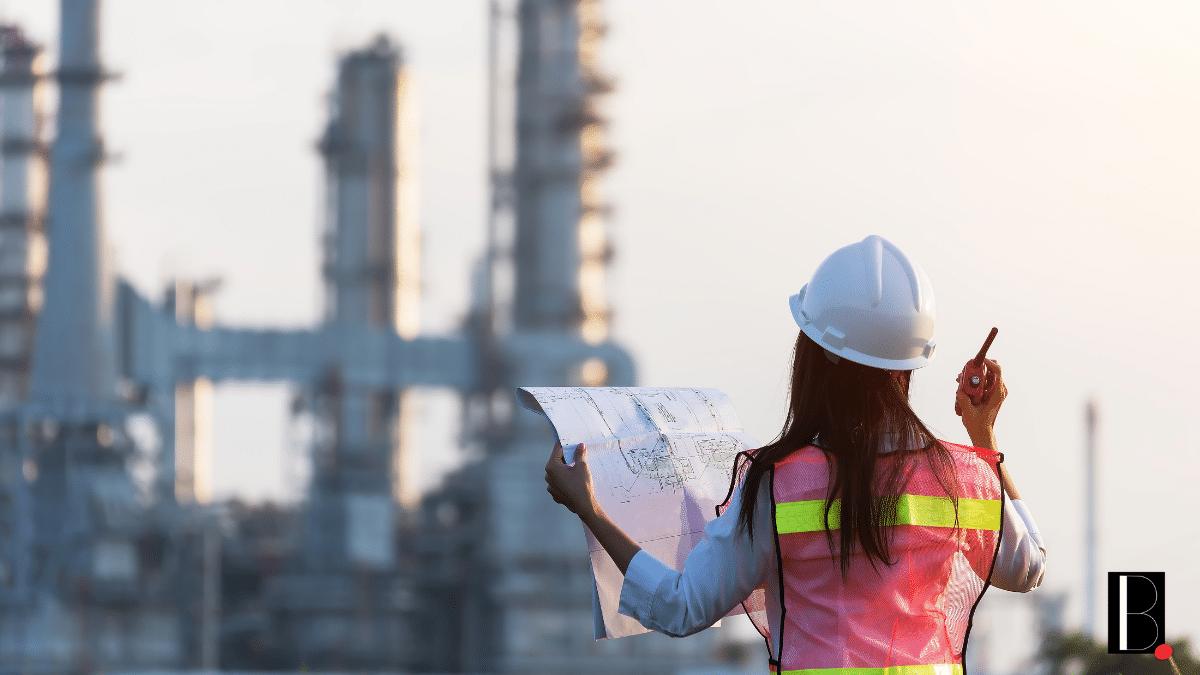 Usine chantier industrie