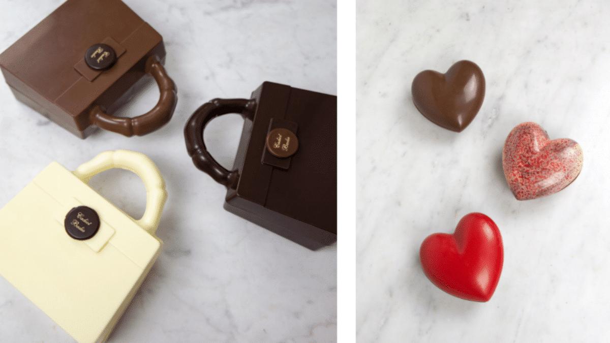Sac Kelly, coeur chocolat