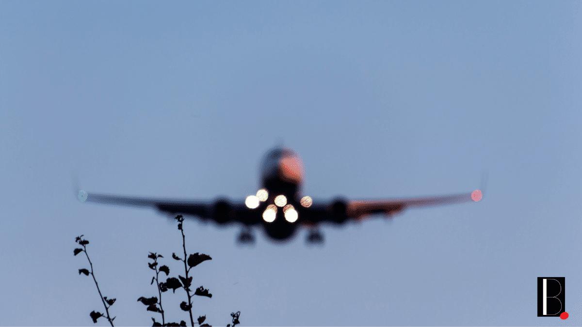 Vol avion décollage commercial