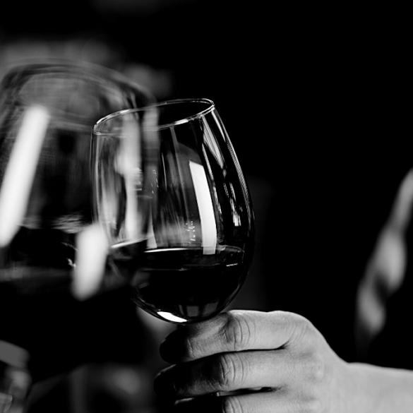 Dome wine glasses