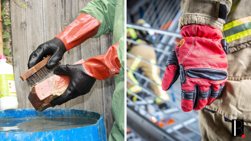 Rostaing gloves know-how activity