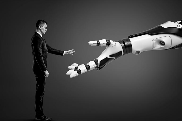 Robots chef entreprise travail