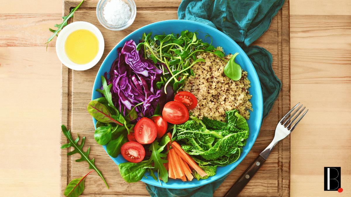Salade copieuse fraiche cuisine