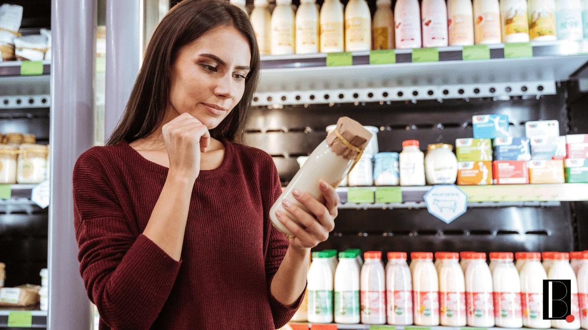 Consommateur produit boutique client