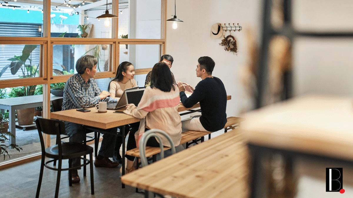 Travail collaborateurs équipe entreprise réunion