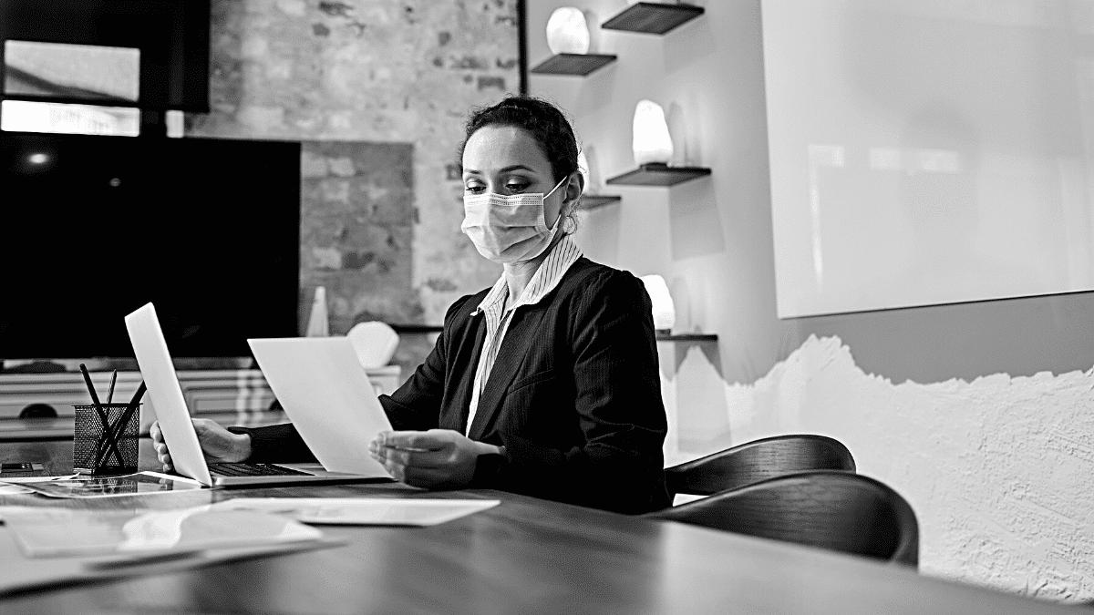 Flex Office bureau salarié travail