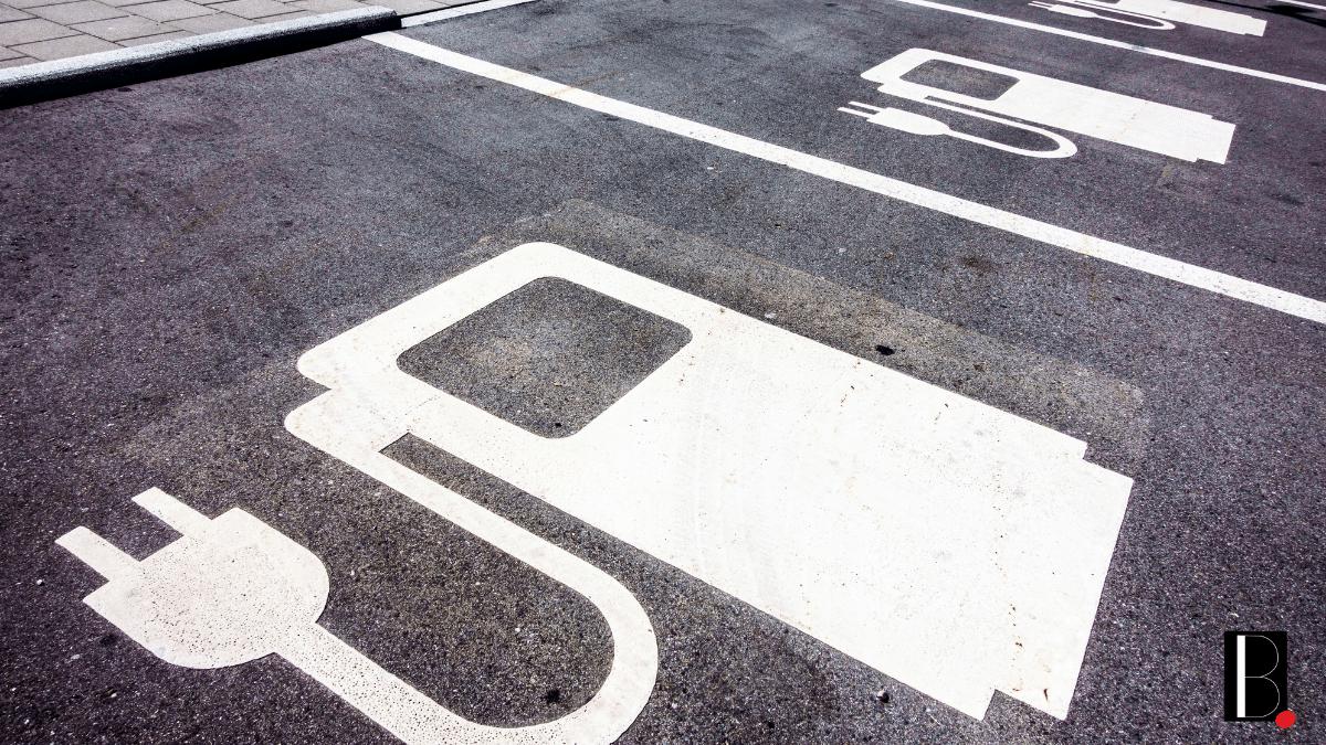 Parking recharge voiture électrique