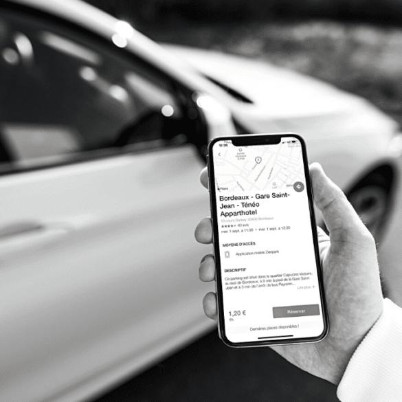 Parkings partagés stationnement voiture bordeaux mérignac