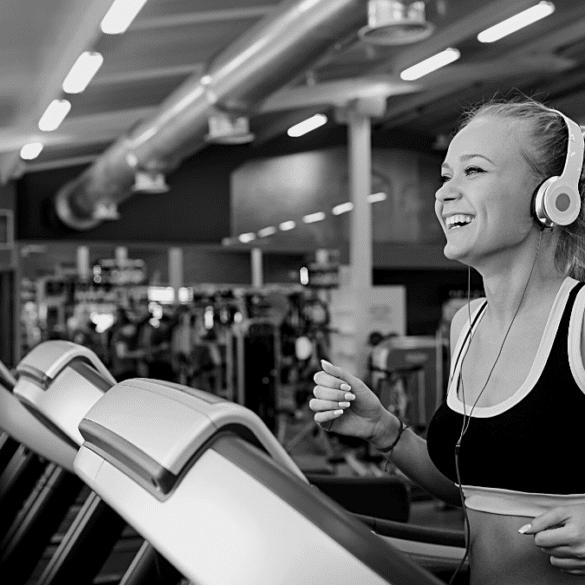 Gym fitness running
