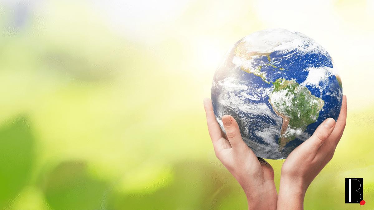 Monde terre planète vert santé