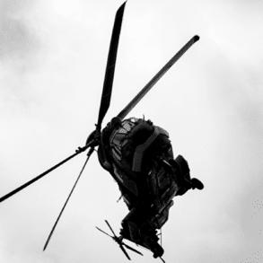 Hélicoptère H125 survol Airbus