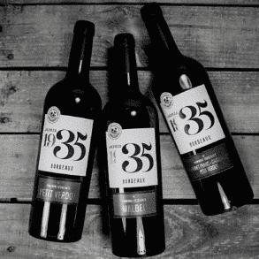 Bouteille de vin Terre des Vignerons vins de Bordeaux